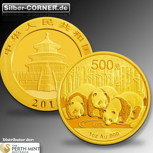 China Panda Gold 2013 1/4 Oz