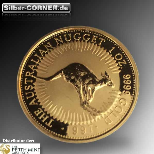 Australien Känguru 1997 1 Oz Gold