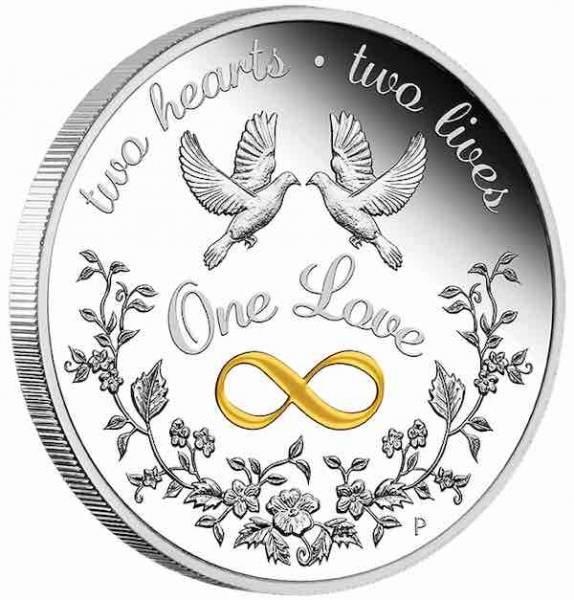 One Love 1 Unze Silber 2021