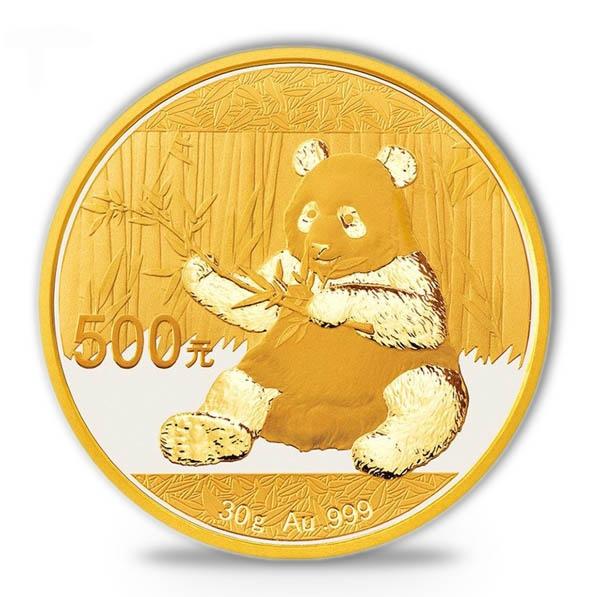 china panda 30 gramm gold 2017
