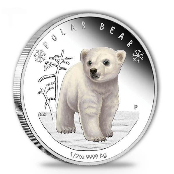 Polar Babies - Polar Bär - 1/2 Oz Silber 2017 +Box +COA*