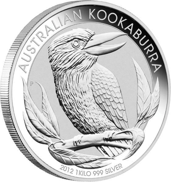 Kookaburra 1 KG Silber 2012 kaufen