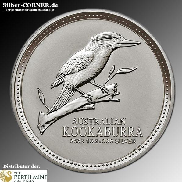 Australien 2003 Kookaburra 1 Oz
