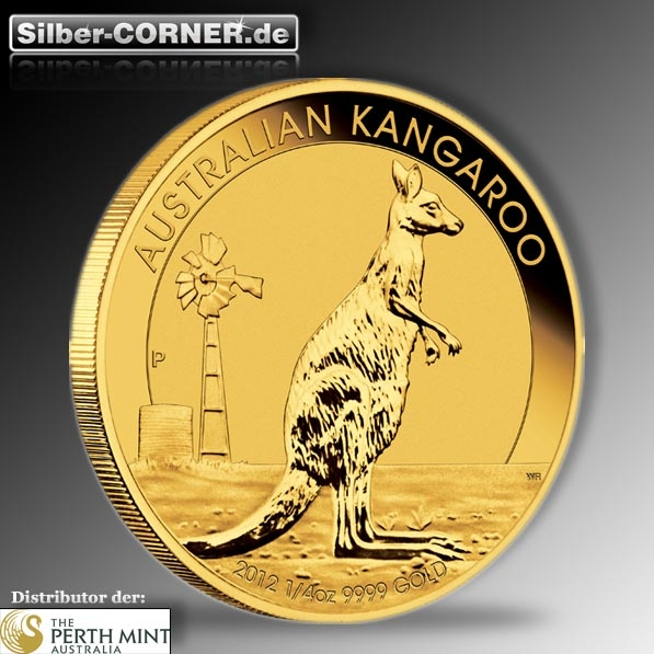 Kangaroo 2012 1/10 Oz Gold