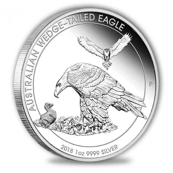 Australia Wedge Tailed Eagle 2018 1 Oz Silber Proof*