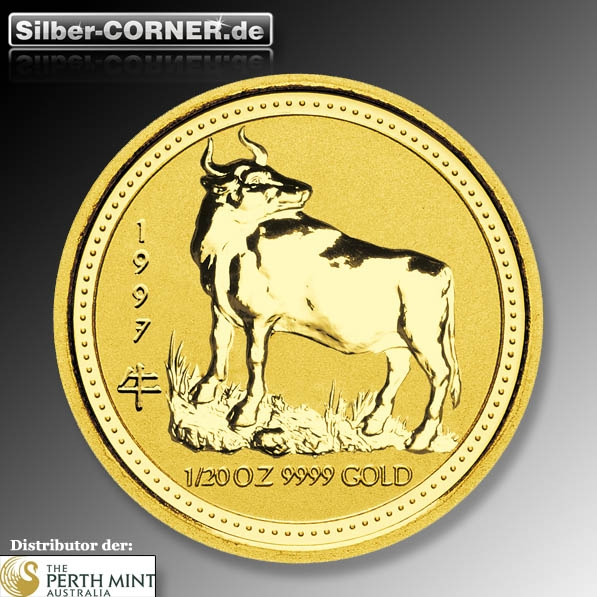 Lunar I Ochse 1997 1/10 Oz Gold