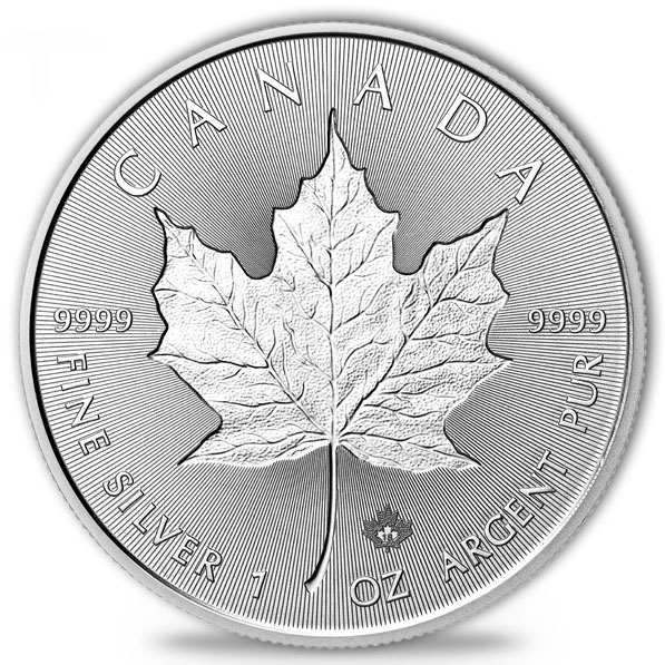 Maple Leaf - Incuse - 1 Oz Silber 2018 *