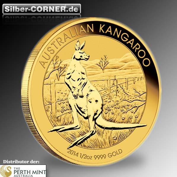 Känguru 1/2 Oz Gold 2014