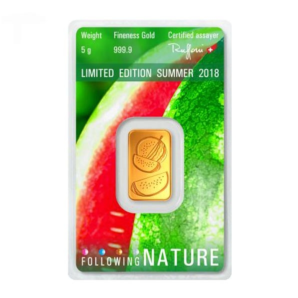 Following Nature - Sommer - 5 Gramm Gold 2018