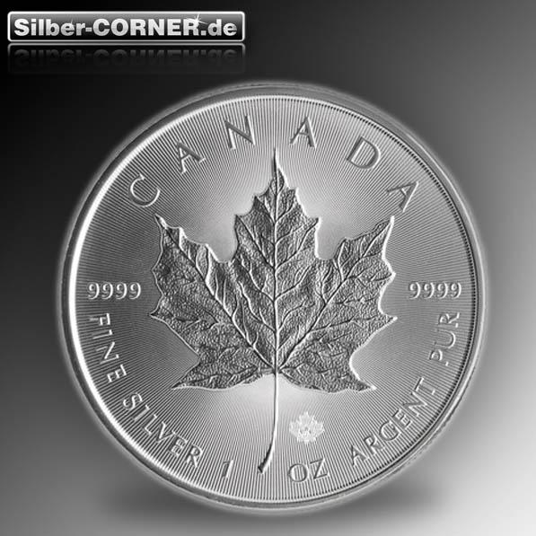 Maple Leaf 2014 1 Oz Silber