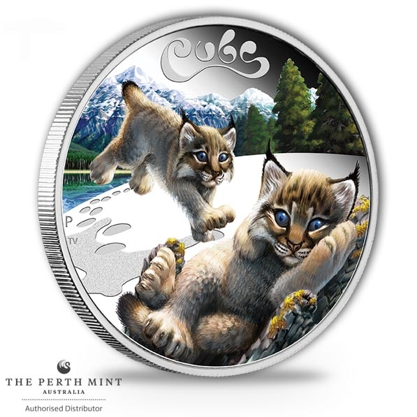 The Cubs - Lynx - 1/2 Oz Silber Proof*