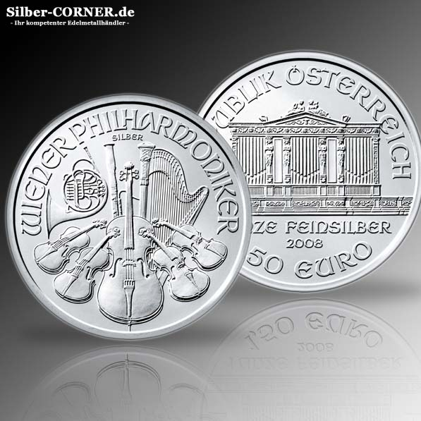 1 Oz Silber Philharmoniker 2015 *