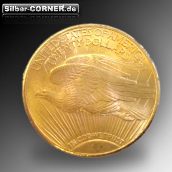 20 USD Double Eagle USA