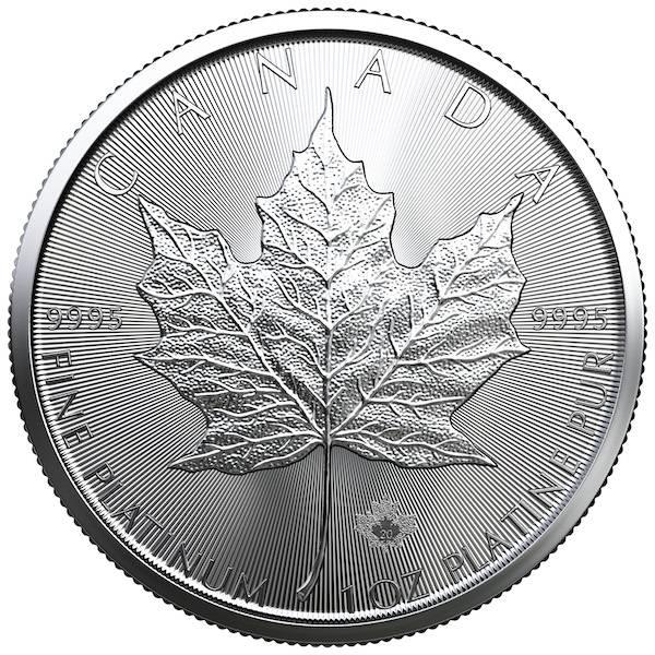 Platin Maple Leaf 1 Unze Kanada