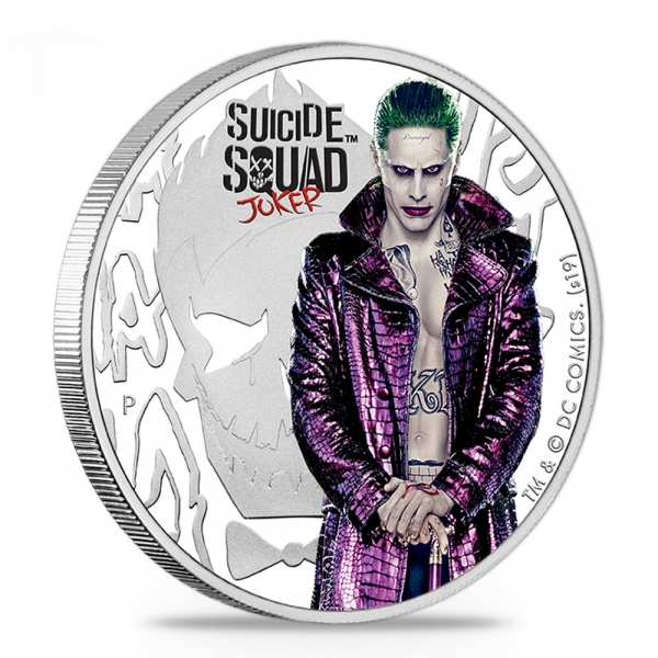 Suicide Squad - Joker 2019 1 Oz Silber Proof*