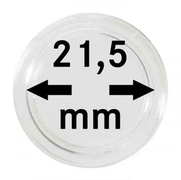 Münzkapsel 21,5mm