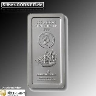 Cook Island 1 KG Silberbarren gebraucht *