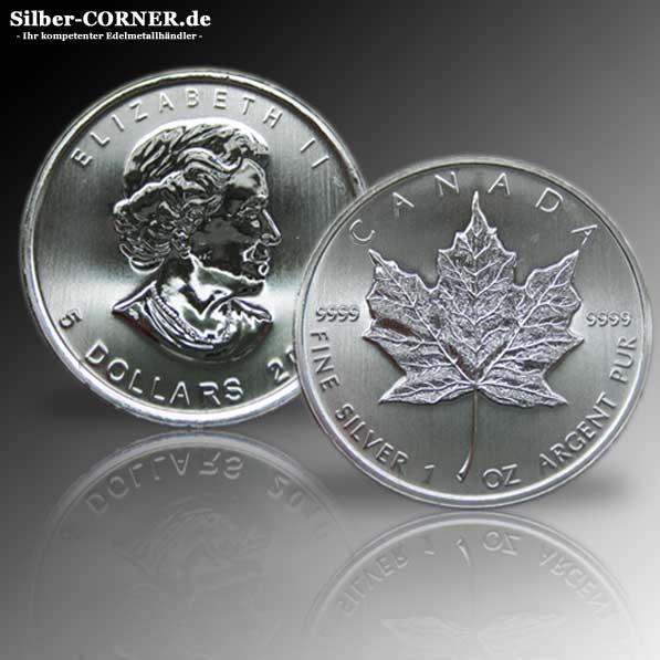 1 Oz Maple Leaf ältere Jahrgänge