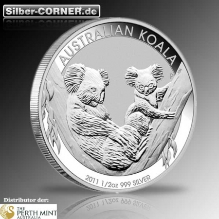 1/2 Oz Koala 2011 der Perth Mint