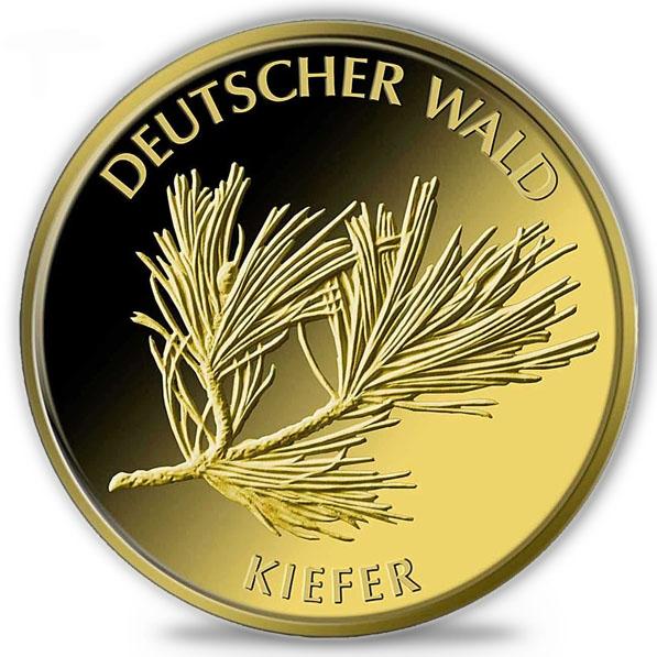Deutscher Wald 1/8 Oz Gold Kiefer 2013