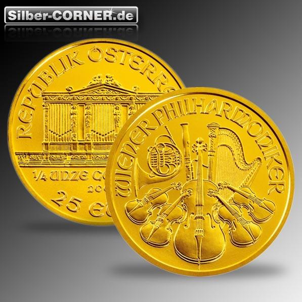 Philharmoniker 1/4 Oz Gold div. Jg