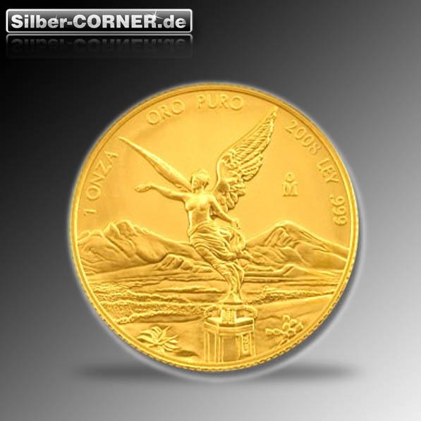 Mexico Libertad 1/4 Oz Gold diverse Jahrgänge