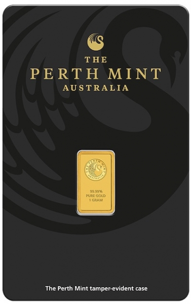 Perth Mint 1 Gramm Goldbarren