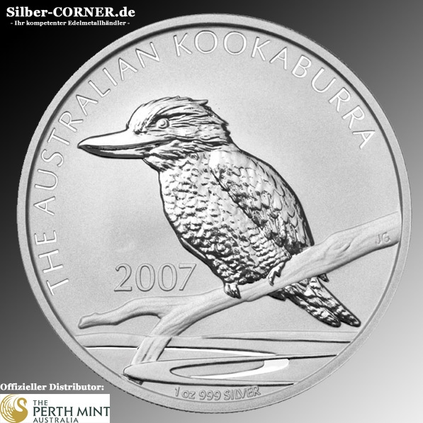Kookaburra 2007 1 Oz Perth Mint