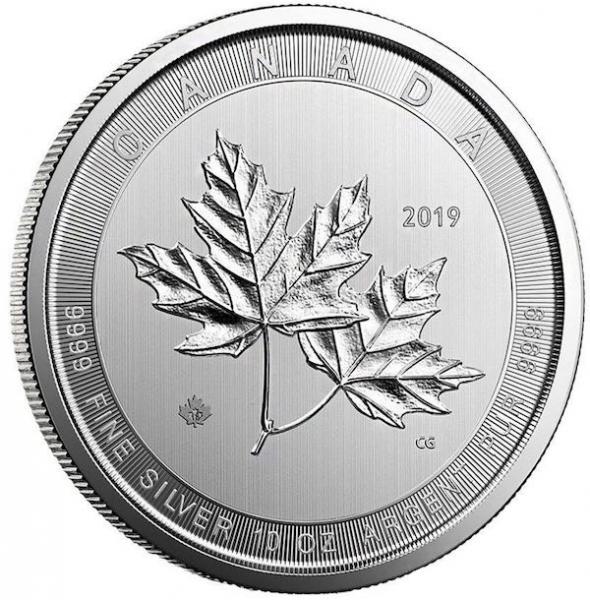 Maple Leaf - Magnificent - 10 Oz Silber 2017 *