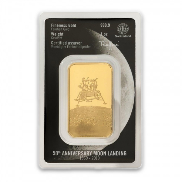 Mondlandung 1 Oz Gold Heraeus