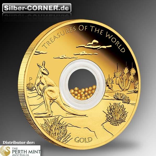 Treasures känguru 1 oz gold