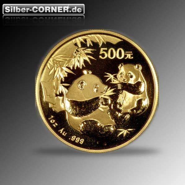 1/4 Oz Gold Panda 2006