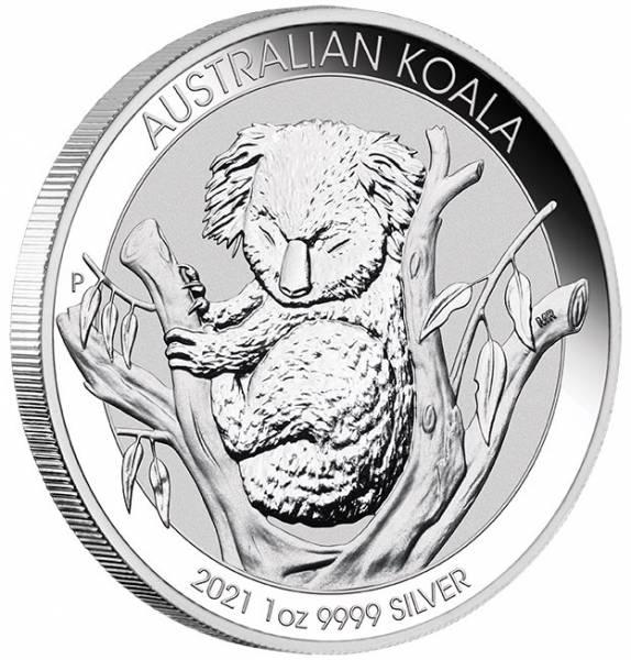Koala Silbermünze 1 Unze 2021