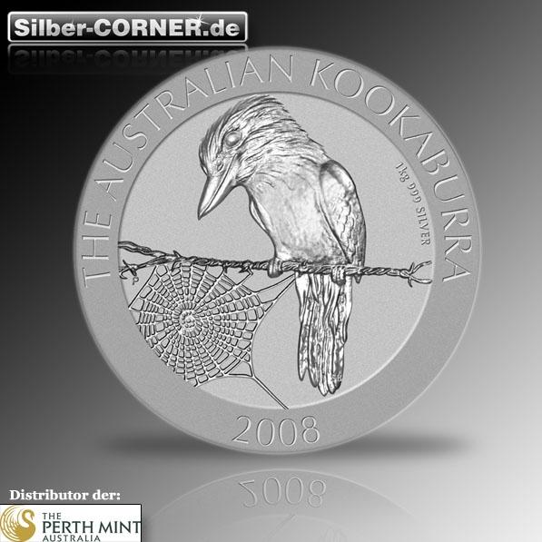 Kookaburra 2008 1 KG Silber *