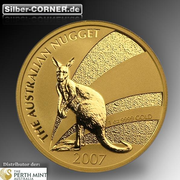 Känguru 1 Oz Gold 2007