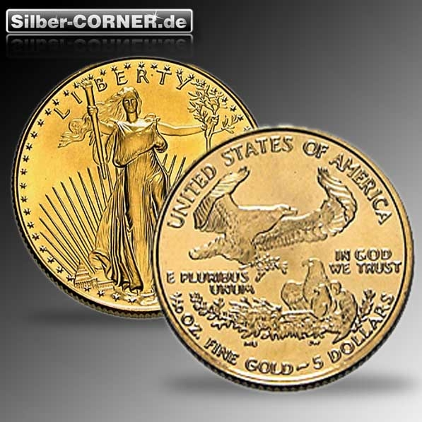 American Eagle 1/10 Oz Gold (div. Jg.)