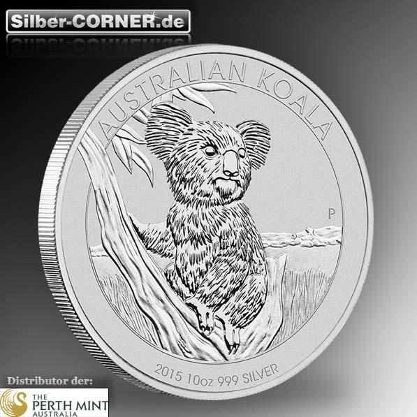 Koala 2015 10 Oz Silber *