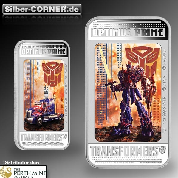 Optimus Prime 1 oz Silber