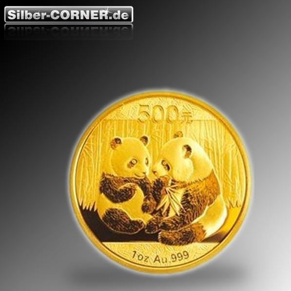 China Panda 2009 1 Oz Gold