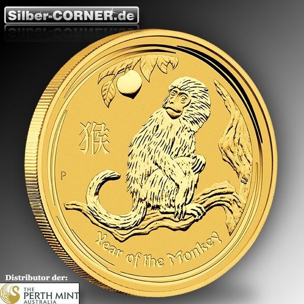 Lunar II Gold Jahr des Affen