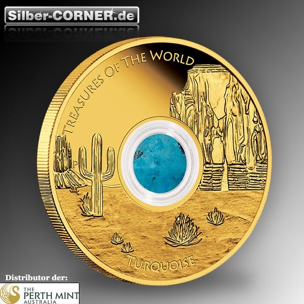 Treasures of the World - North America - 1 Oz Gold Proof