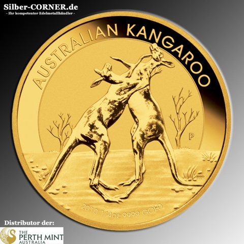 Känguru 1/4 Oz Gold 2010