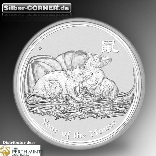 lunar maus 1 kg silber