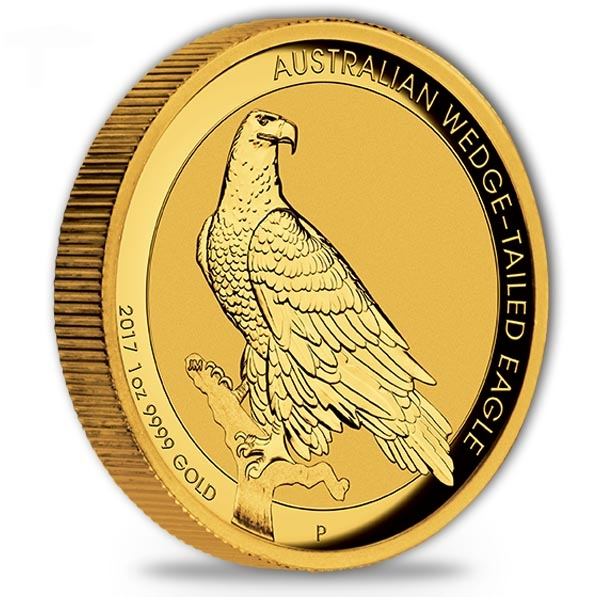 Wedge Tailed Eagle 1 Oz Gold High Reilef 2017