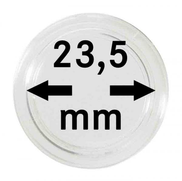 Münzkapsel 23,5mm