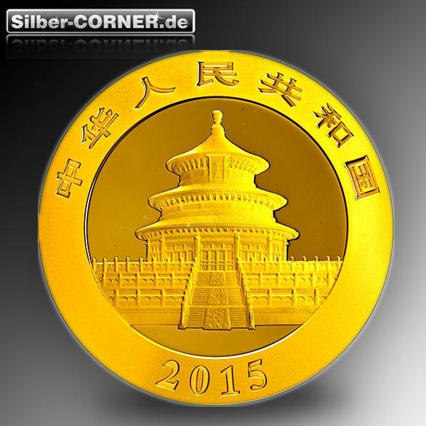 China Panda 2015 1 Oz GOld