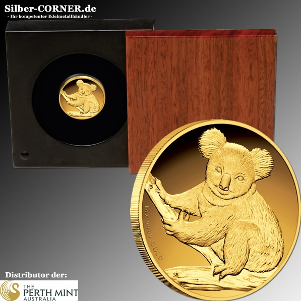 Koala 2009 1/10 Oz Gold Proof