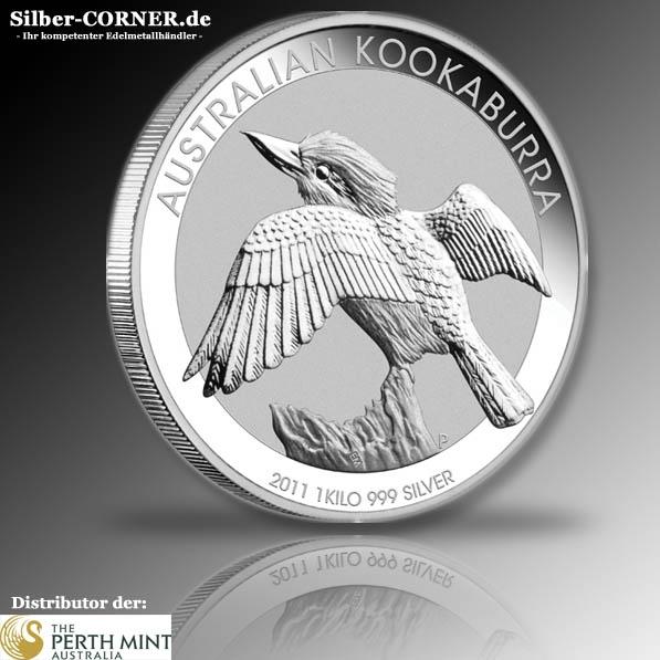 Kookaburra 2011 1 KG Silber *