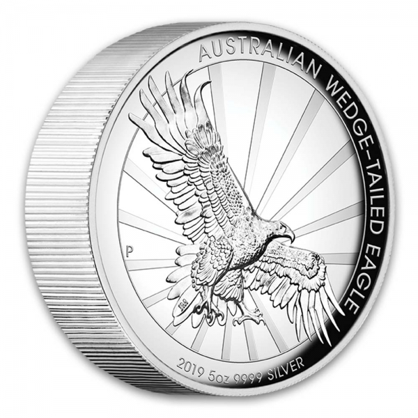 5 Oz High Relief Wedge Tailed Eagle 2019*