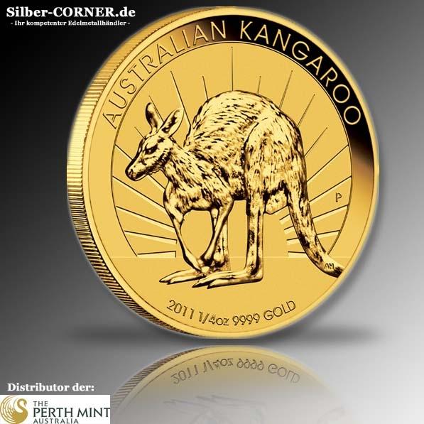 Känguru 1/4 Oz Gold 2011